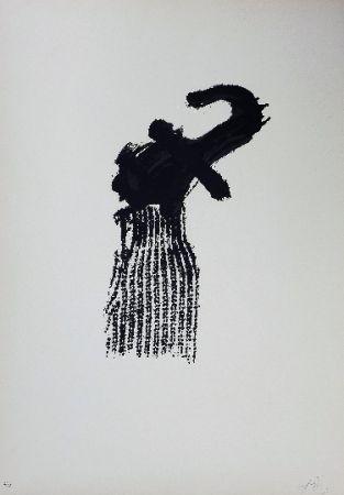Lithographie Tàpies - LLambrec 10