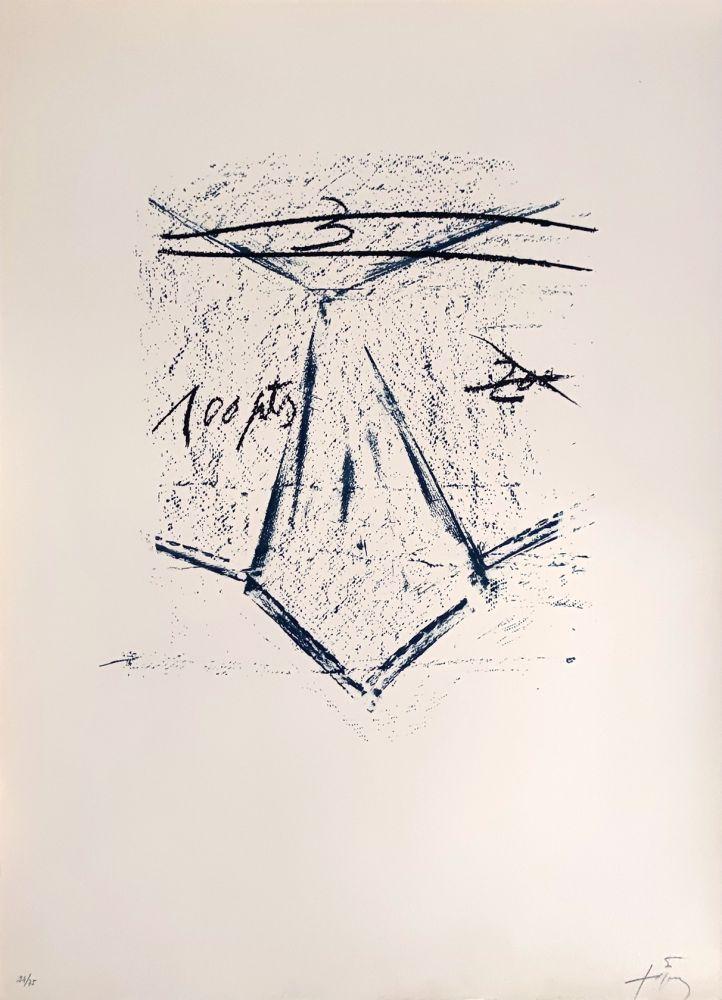 Lithographie Tàpies - Llambrec 12