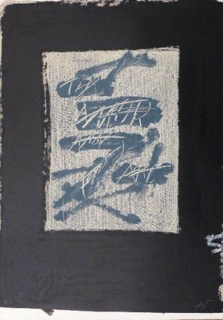 Lithographie Tàpies - Llambrec 17
