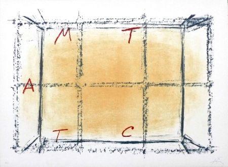 Lithographie Tàpies - Llambrec 18