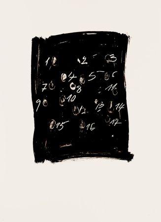 Lithographie Tàpies - Llambrec 3