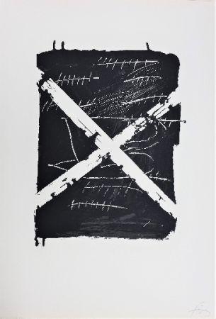 Lithographie Tàpies - LLambrec 8