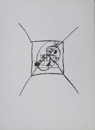 Lithographie Tàpies - LLambrec 9