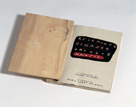 Livre Illustré Plensa - Llibre De Fusta