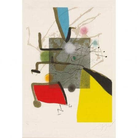 Gravure Miró - Llibre Del sis Sentits II