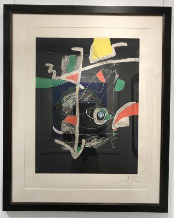 Eau-Forte Et Aquatinte Miró - L'Libre dels Sis Sentits VI (Book of the Six Senses)