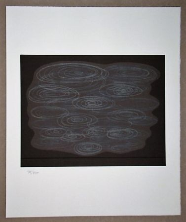 Lithographie Vasarely - Locmaria