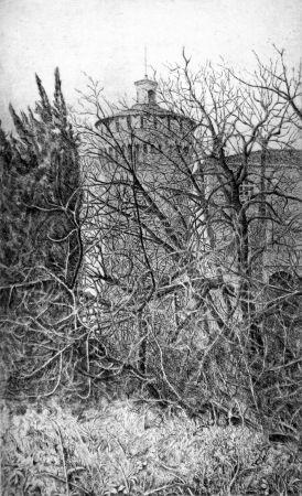 Eau-Forte Cotugno  - Lodi, il torrione