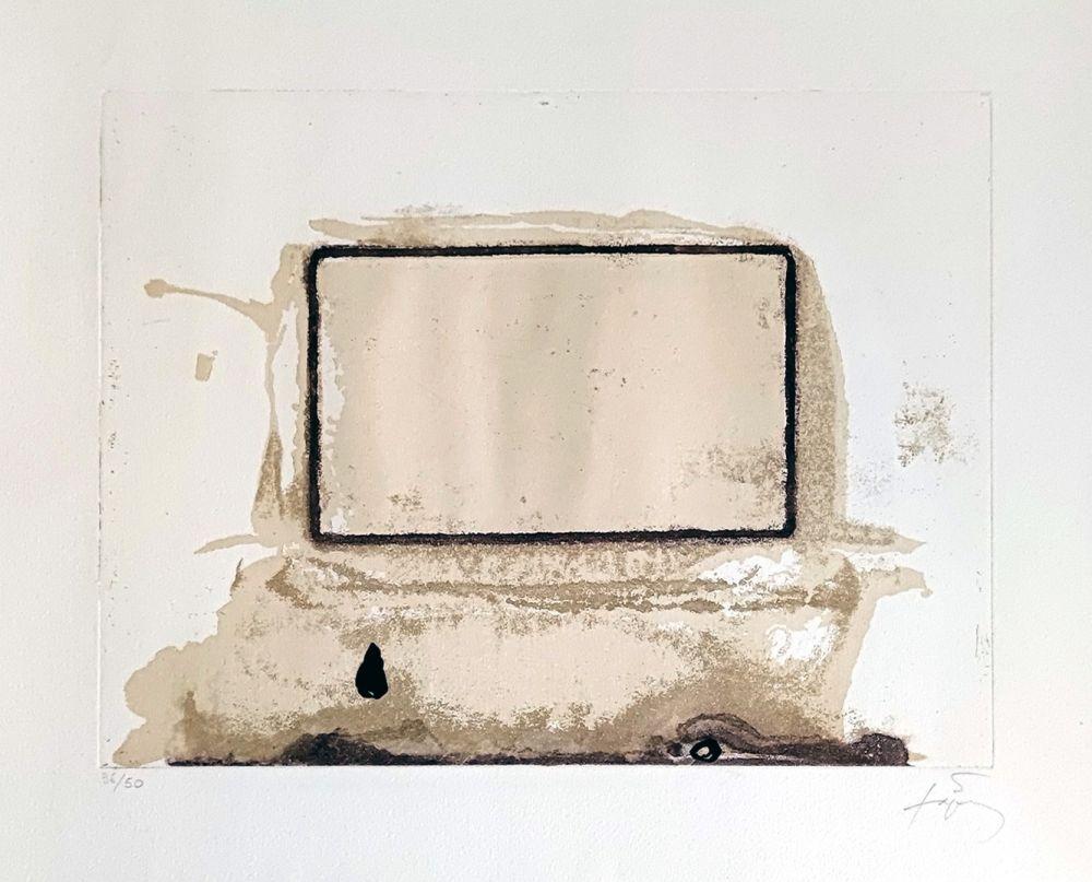 Gravure Tàpies - L'oeil