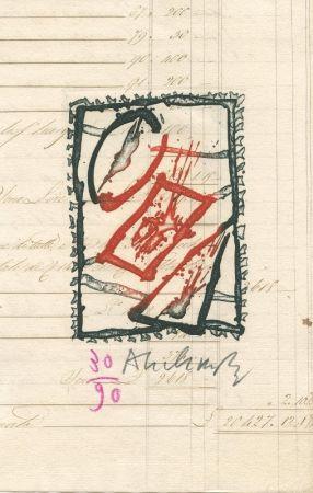 Livre Illustré Alechinsky - L'oeil Et La Plume