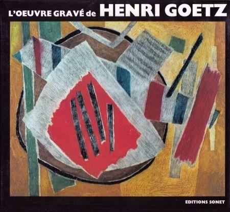 Livre Illustré Goetz - L´oeuvre gravé de Henri Goetz