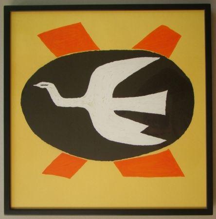 Lithographie Braque - L'oiseau de feu