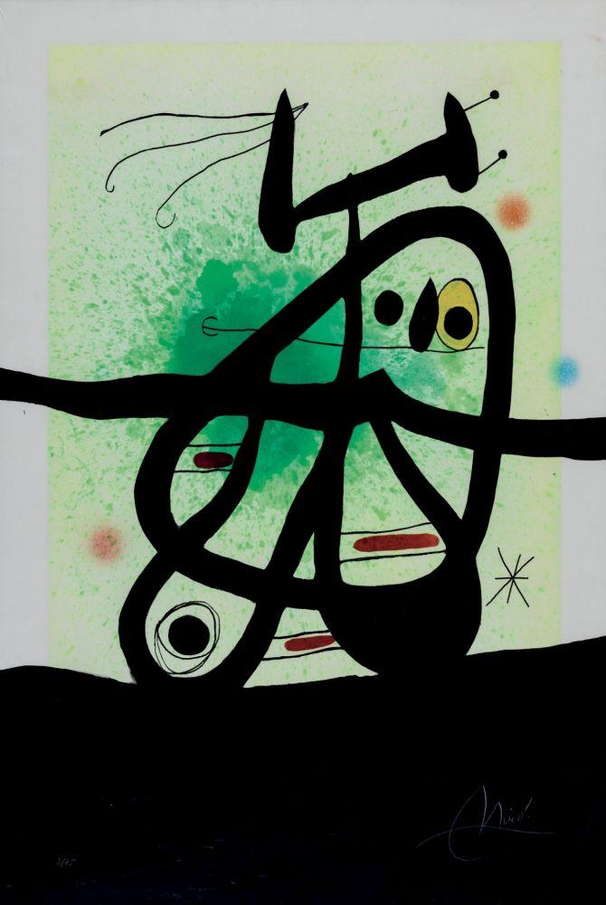 Eau-Forte Et Aquatinte Miró - L'Oiseau Mongol