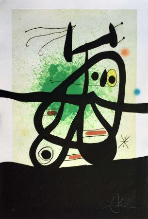Aucune Technique Miró - L'Oiseau Mongol