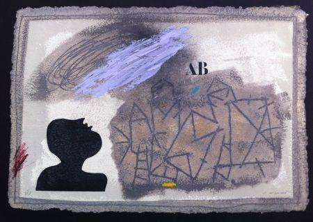 Gravure Coignard - L'ombre bleue