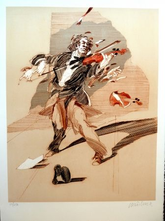 Aucune Technique Weisbuch - L'Ombre du Violoniste