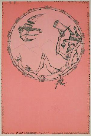 Lithographie Ponc - London