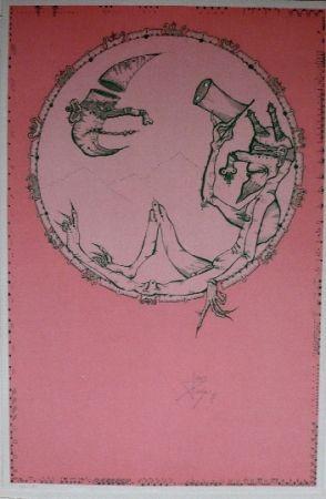 Lithographie Ponç - London