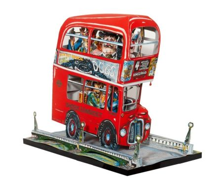 Lithographie Grooms - London Bus