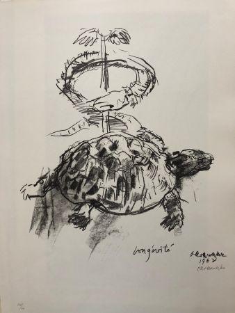 Lithographie Kokoschka - Longévité