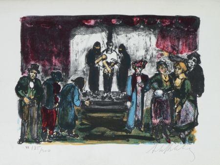 Lithographie Blatas - L'opera Des Gueux The Beggers Opera plate no. VI