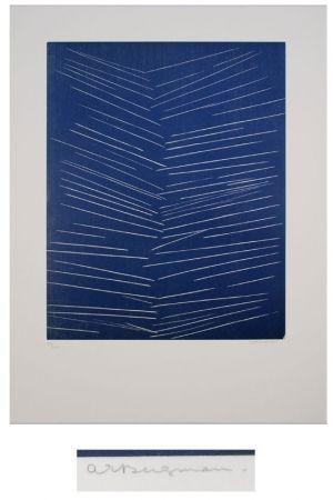 Lithographie Bergmann - L'or vivre-l'air
