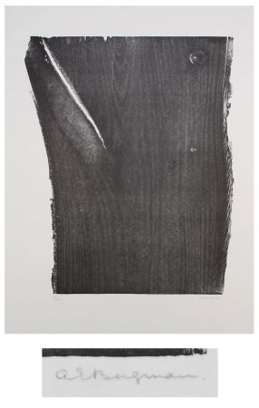 Lithographie Bergmann - L'or vivre II