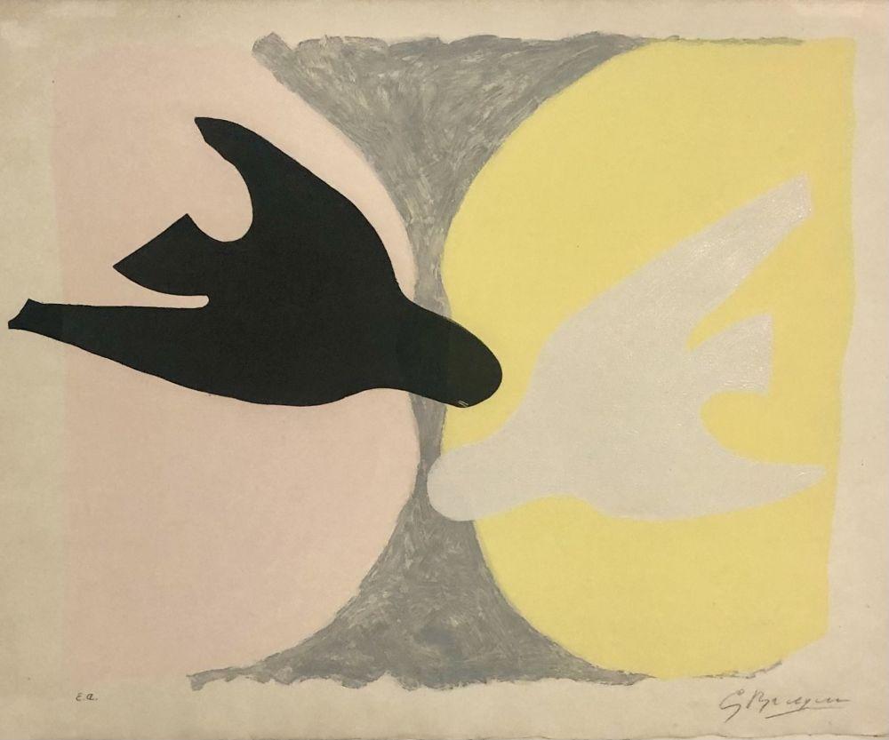Eau-Forte Et Aquatinte Braque - L'ordre des oiseaux