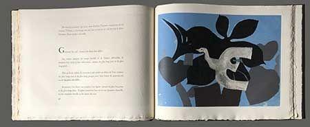 Livre Illustré Braque - L'ordre Des Oiseaux
