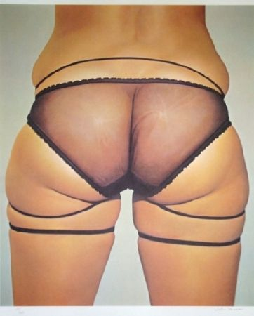 Lithographie Kacere - Loretta