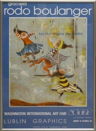 Lithographie Rodo-Boulanger - Los Domingos de Julieta