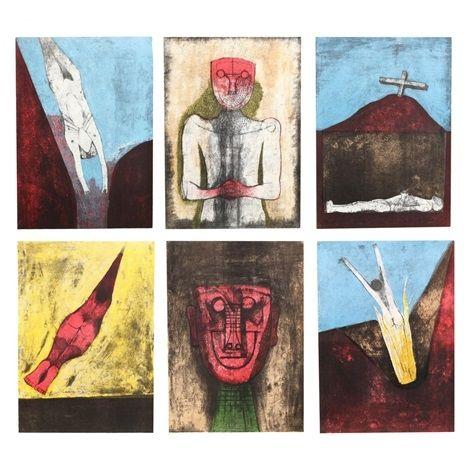 Lithographie Tamayo - Los Signos Existen