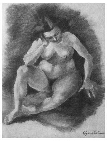 Lithographie Bonabel - Louis-Ferdinand Céline - Litographie Originale / Original Lithograph - 1938