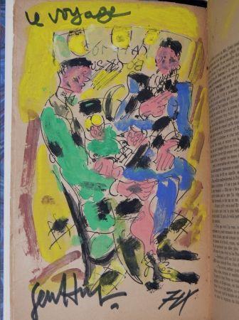 Livre Illustré Paul  -  Louis-Ferdinand Céline - VOYAGE AU BOUT DE LA NUIT - Gouache