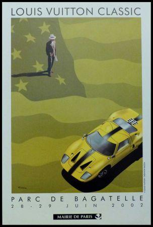Affiche Razzia - LOUIS VUITTON CLASSIC PARC DE BAGATELLE