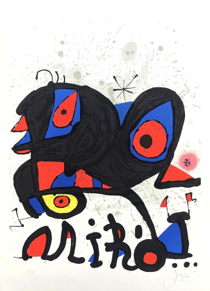 Lithographie Miró - Louisiana