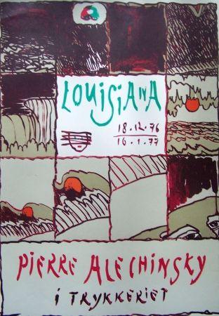 Affiche Alechinsky - Louisiana