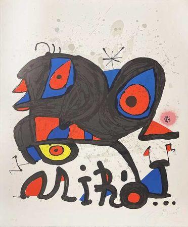Lithographie Miró - Louisiania