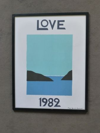Affiche Saint Laurent - Love 1982