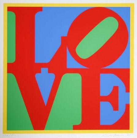 Sérigraphie Indiana - Love big