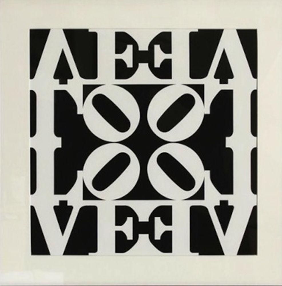 Sérigraphie Indiana - Love, from Decade Portfolio