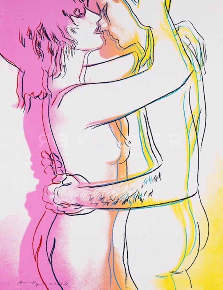 Sérigraphie Warhol - Love (FS II.312)