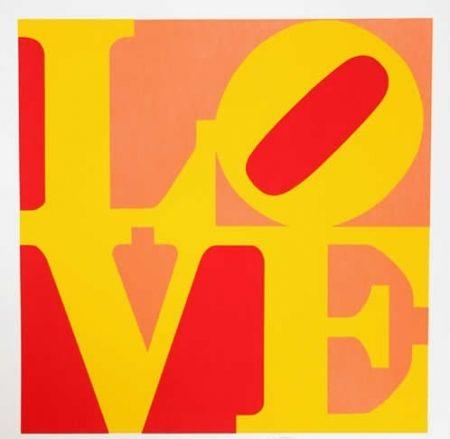 Multiple Indiana - Love – Red Yellow Orange