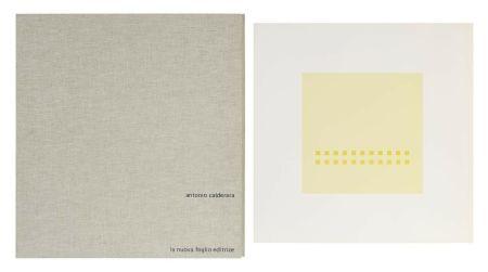 Sérigraphie Calderara - Luce spazio immagine (Cartella di 8 serigrafie)