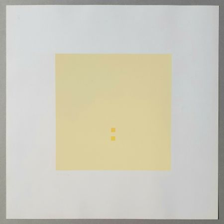 Sérigraphie Calderara - Luce spazio immagine