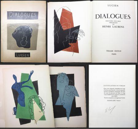 Livre Illustré Laurens - Lucien de Samosate - DIALOGUES. 32 bois gravés en couleurs (Tériade 1951).