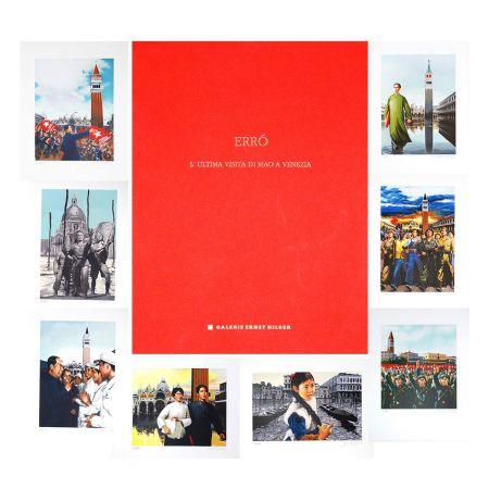 Lithographie Erro - L'ultima visita di  Mao a Venezia - complete portfolio
