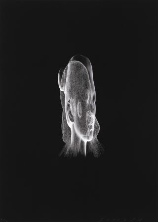 Estampe Numérique Plensa - Lumière invisible Rui Rui