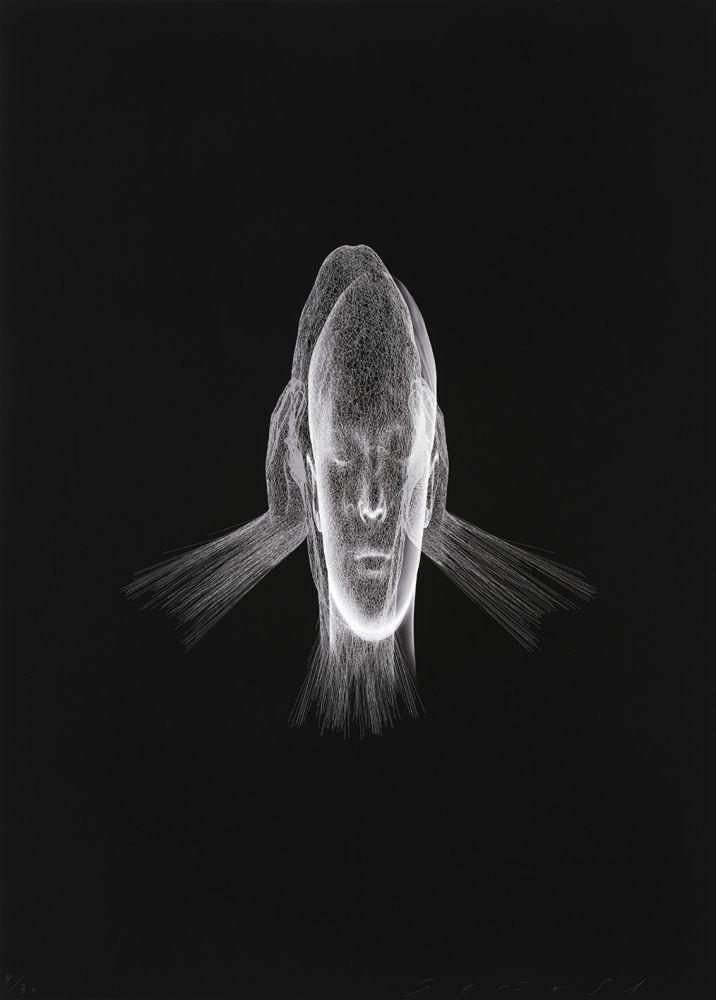 Estampe Numérique Plensa - Lumière invisible (Sanna)