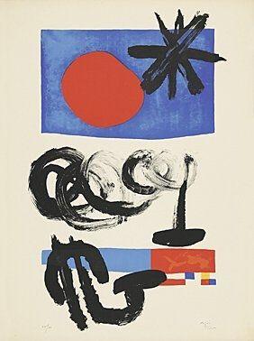 Lithographie Miró -